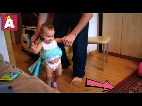 Ангелина ходит сама, ребенок начал ходить сам! Как научить ходить Baby Walk, Baby Go