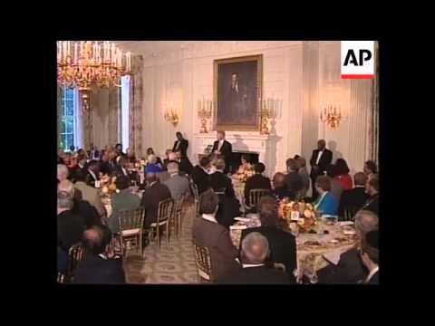 USA: BILL CLINTON: ANNUAL PRAYER BREAKFAST