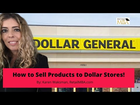 Dollar Store Suppliers - How To Become One Of The Dollar Store Suppliers!