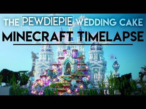 The Pewdiepie Wedding Cake Minecraft Timelapse Ep 9 Newheaven