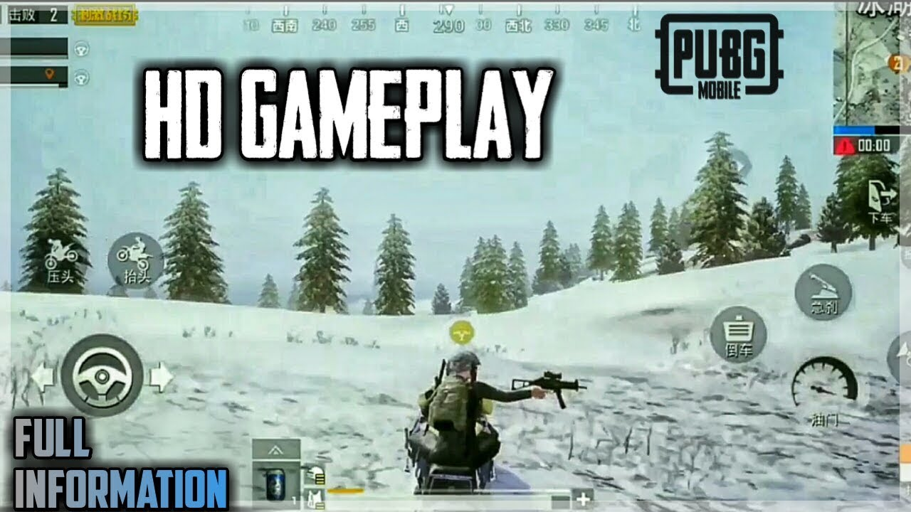 Pubg Mobile Snow Map Vikendi Gameplay New White Ghillie Suit