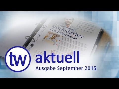 TW AKTUELL | AUSGABE SEPTEMBER 2015