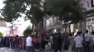 Elazığ'da Hdp'lilerin Korkudan Kaçtıkları Anlar(17.07.2011)