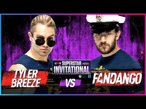 TYLER BREEZE Vs. FANDANGO: Rd. 1 - WWE 2K18 Superstar Invitational Tournament