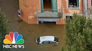 Flash Floods Rip Through Southwest France | NBC News