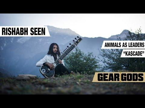"Rishabh Seen - Animals As Leaders ""Ka$cade"" Sitar Cover | GEAR GODS"