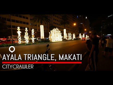 【4K】To Ayala Triangle Gardens, Makati, Philippines Part 5