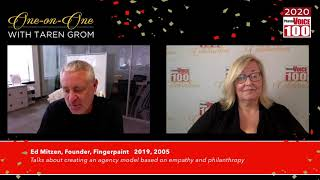 Ed Mitzen, Fingerpaint – 2020 PharmaVOICE 100 Celebration