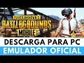 DESCARGAR EMULADOR OFICIAL DE PUBG MOBILE PARA PC + GAMEPLAY