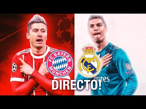 Bayern Munich 1-2 Real Madrid   Partido Completo   Champions League   25.4.2018