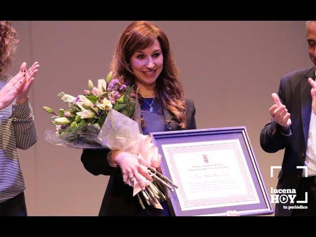 VÍDEO: Homenaje a Felisa Reyes Ortega con motivo del Día Internacional de la Mujer