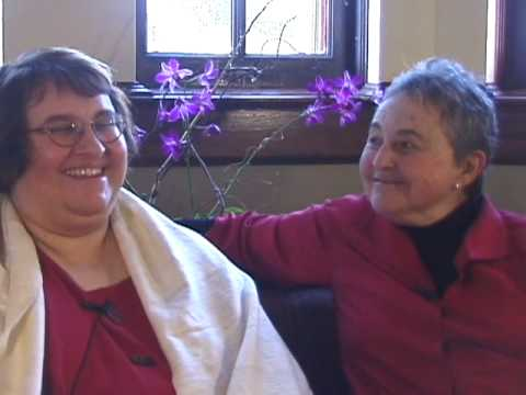 Part 1: Sharon Salzberg & Sylvia Boorstein on universal compassion, Garrison Institute, Dec. 2008