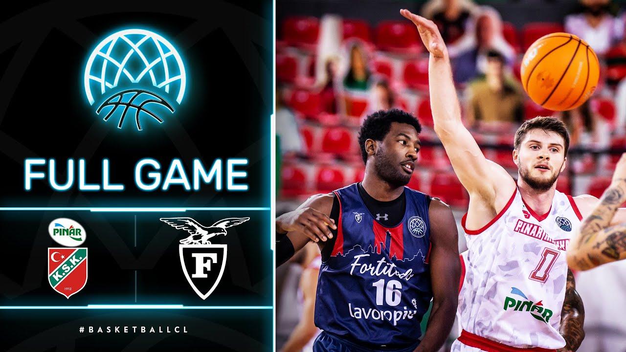 Pinar Karsiyaka v Fortitudo Bologna - Full Game