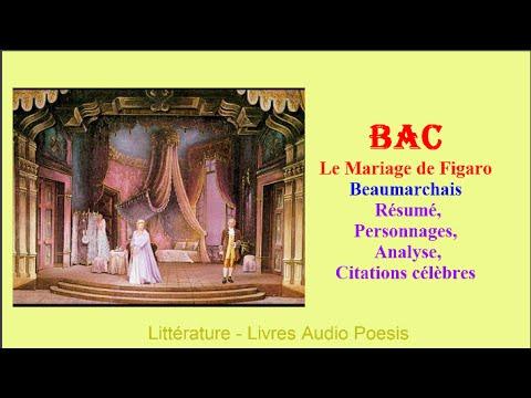 Bac Le Mariage De Figaro De Beaumarchais Résumé Baccalauréat Littéraire Collège Lycée