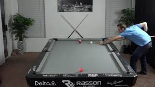 Billiards Drill #9: Back and Forth!!