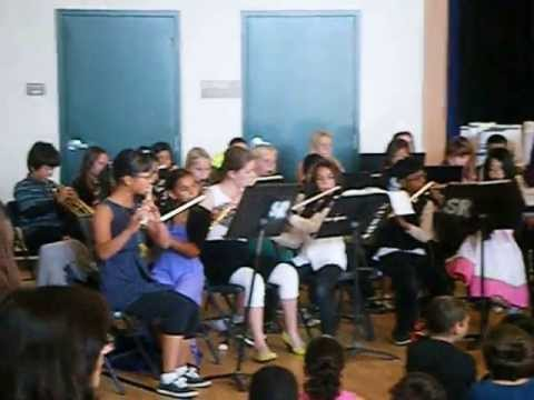 san ramon elementary school band #6
