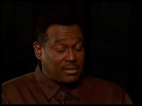 Exclusive: Luther Vandross tells Tim Lampley he's not happy.