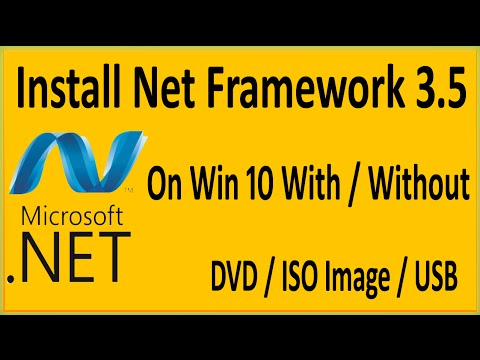 How To Install .Net Framework 3.5 Offline On Windows 10 Without CD ...