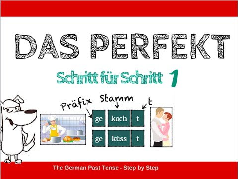 how to build the german past tense part 1 english sub - Simple Past Beispiele