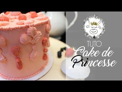 tuto-:-gateau-princesse---cake-design-facile-!