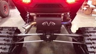 evolution turbo rzr magnum slip on exhaust