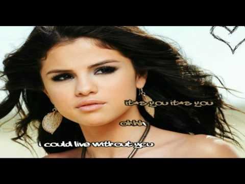 Selena Gomez & The Scene - My Dilemma [Karaoke/Instrumental] With Lyrics
