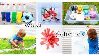 6 Spiele mit Wasser für heiße Sommertage | Spielen mit Kindern | Schwammball, Wasserspiel