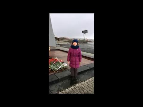 Изображение предпросмотра прочтения – АринаАрхангельская читает произведение «Что такое День Победы?» А.А.Усачева