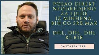 Posao u DHL-u direkt na neodredjeno za radnike iz Minhena(HR), BiH.CG,Srb,Mak