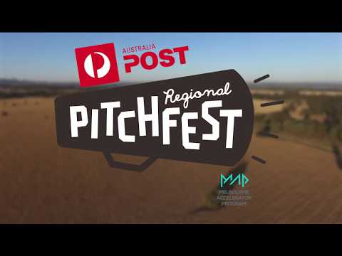 Australia Post Regional Pitchfest Grand Finale.
