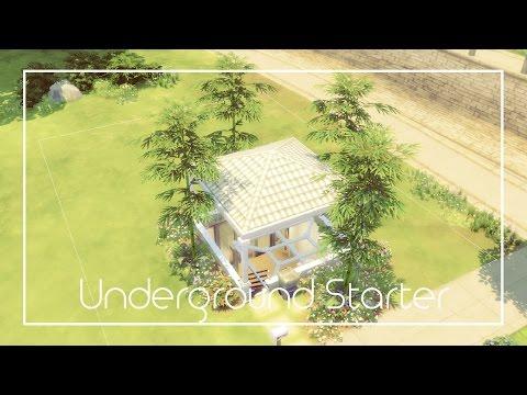 Underground Starter | Speed Build | The Sims 4 | 38 |