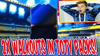 FIFA 17 - 2x WALKOUT in TOTY PACK OPENING! 🔥⛔️🔥 - ULTIMATE TEAM (DEUTSCH)