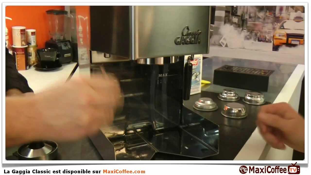GAGGIA CLASSIC   Machine expresso compacte   Le Test MaxiCoffee ...