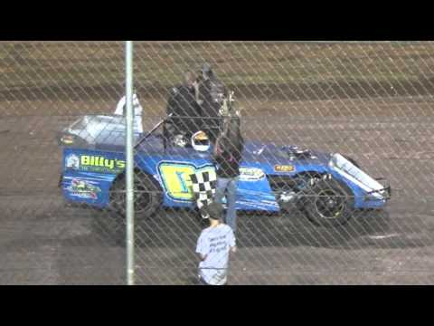 Ark La Tex Speedway Pro Mod A feature winner Interview Billy robinson