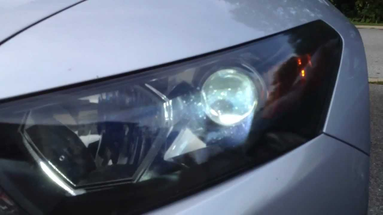 2012 Coupe Headlights Accord Led