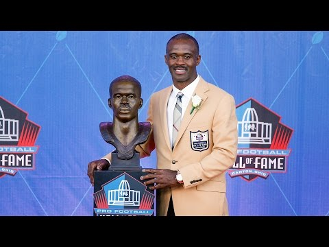 Marvin Harrison Introduced at Hall of Fame Induction Ceremony 2016