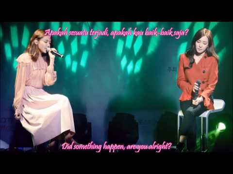 [HD] SNSD Sooyoung & Tiffany - Sailing (0805) [Eng Sub - Indo Sub] Live Beaming Effect
