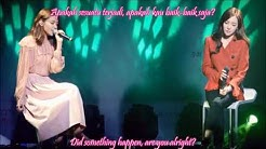 [HD] SNSD Sooyoung & Tiffany - Sailing (0805) [Eng Sub - Indo Sub] Live Beaming Effect