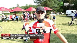 Rozmowa z Mariuszem Rynkiewiczem, organizatorem kolarskiej imprezy w Serafinie