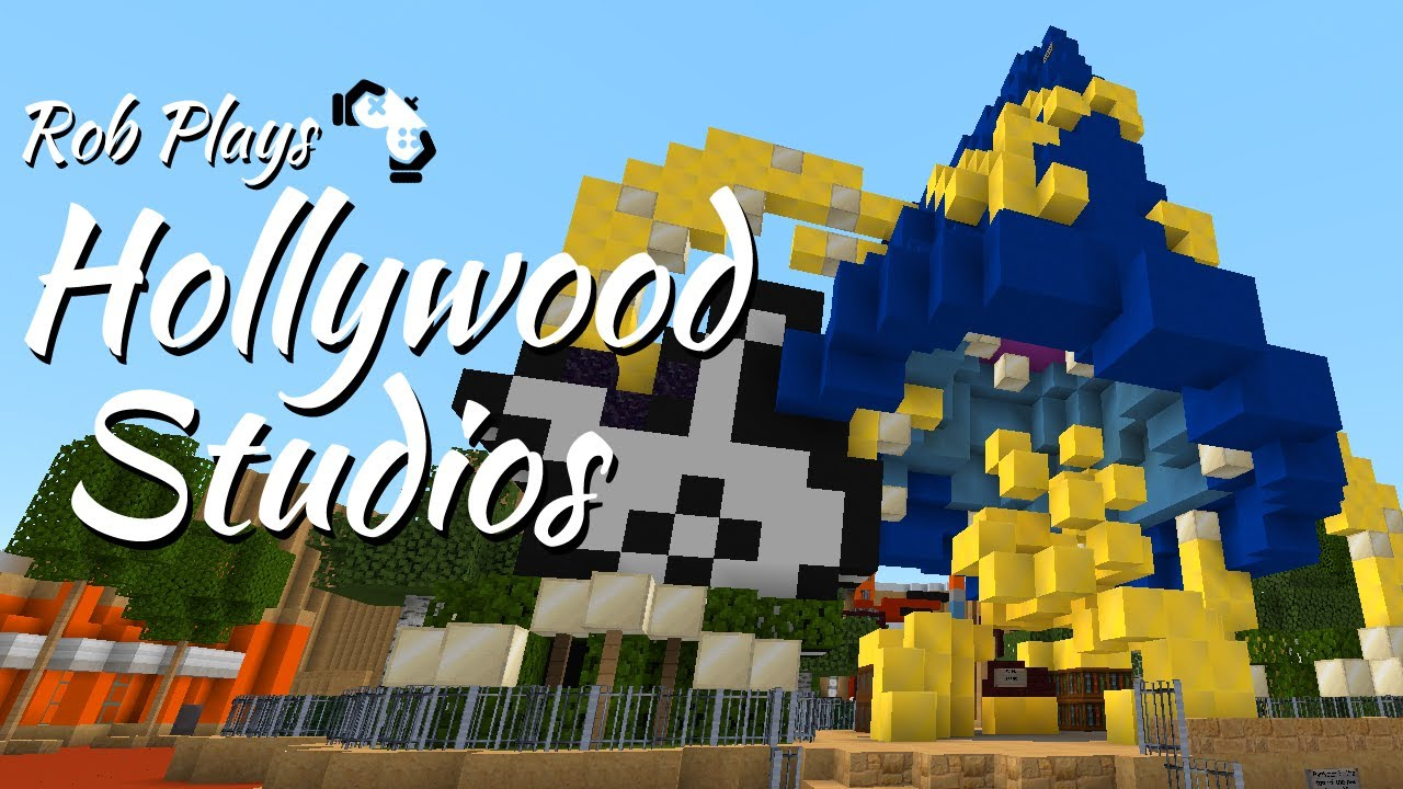Minecraft Disney World Rob Tours Hollywood Studios MCMagicus - Mcmagic us map download