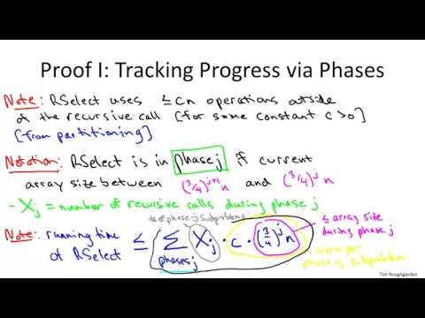 8   2   Randomized Selection    Analysis 21 min