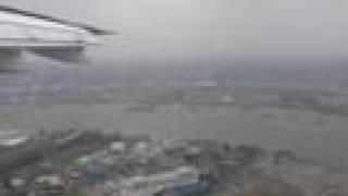 **Landing/Atterrissage-London City Airport-AirFranceBAE146**