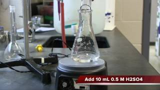 Standardization of KMnO4 Using Standard Ferrous Iron