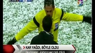 HALİT SİVUK - 11.12.2013 - TRT 1 Ana Haber/GS-Juve Maçı Hakkında Röportaj