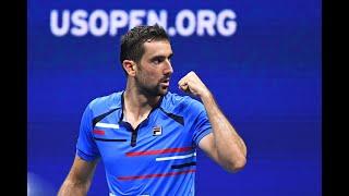 Cedrik-Marcel Stebe vs. Marin Cilic | US Open 2019 R2 Highlights