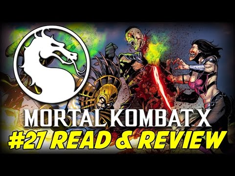 Mortal Kombat X #27 Blood And Gods (Read & Review)