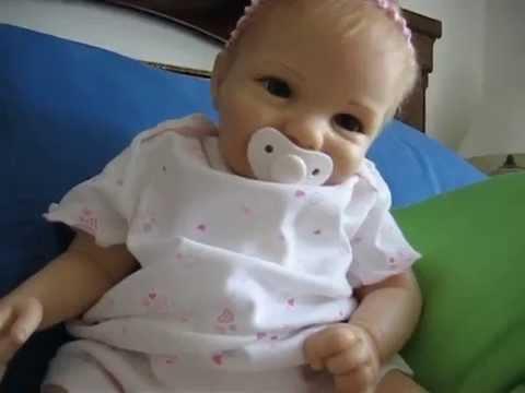 My Silicone Baby From Ashton Drake My Bundle Of Joy Doll Youtube