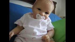 my silicone baby from ashton drake (my bundle of joy doll)