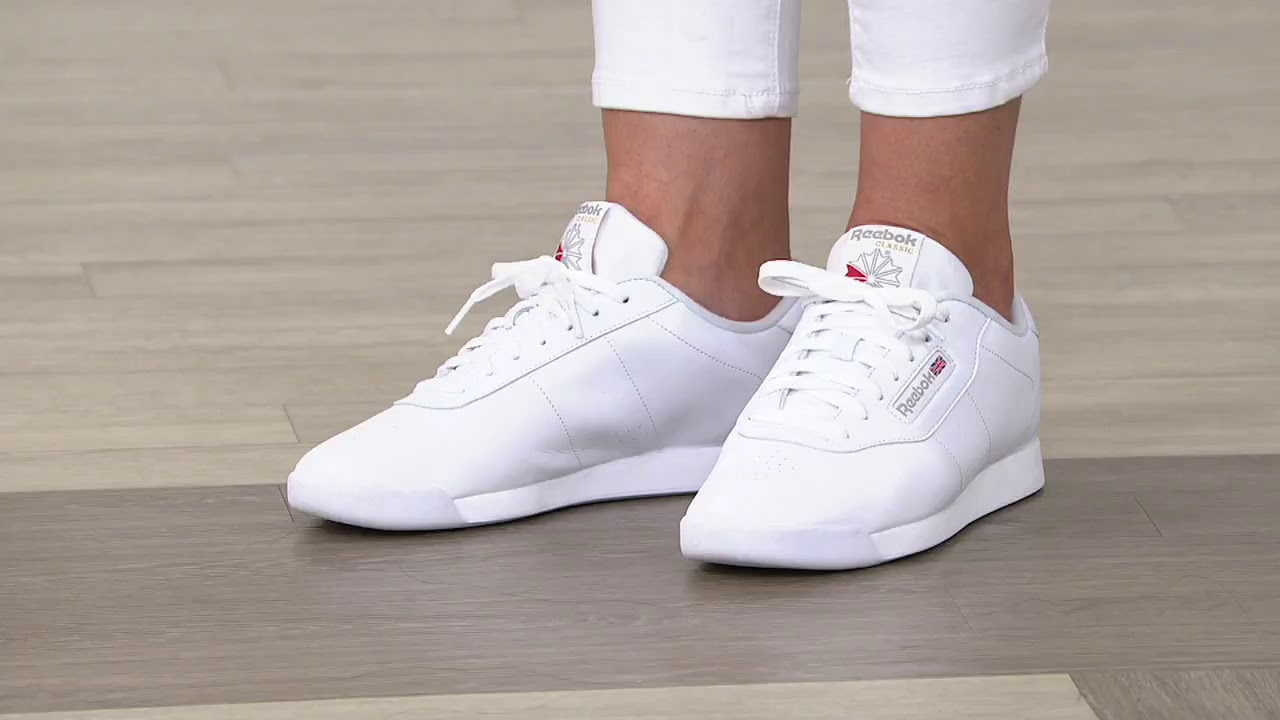 Café Cambios de Gobernar  Reebok Classics Lace-Up Sneaker - Princess on QVC - YouTube