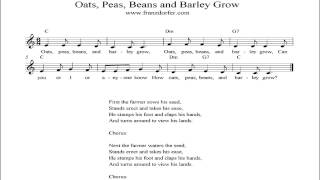 Oats Peas Beans and Barley Grow - instrumental